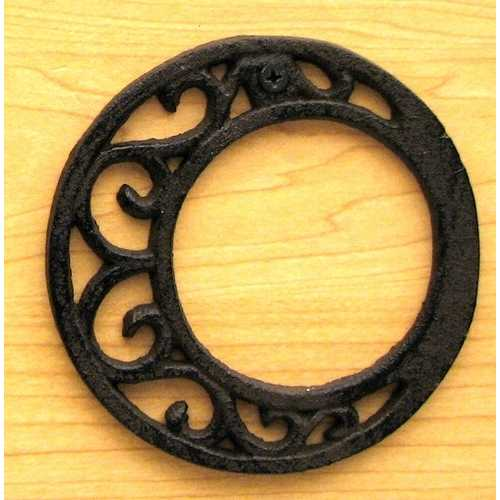 Cast Iron Letter O