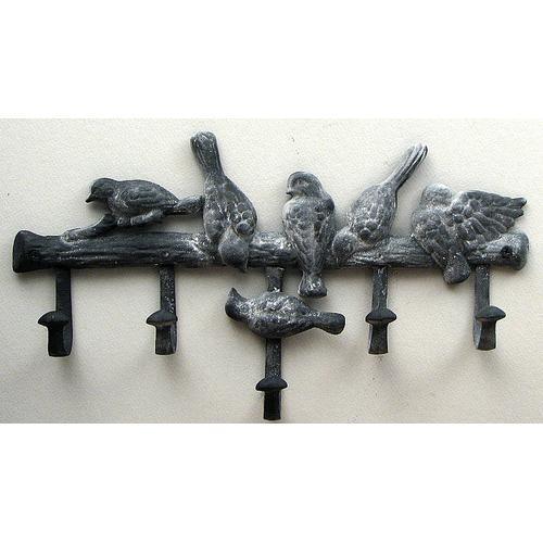 Multi Bird Hook Gray
