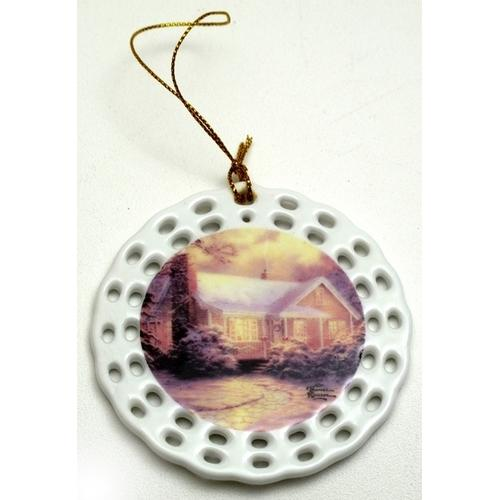 Thomas Kinkade 'Christmas Cottage' Ornament