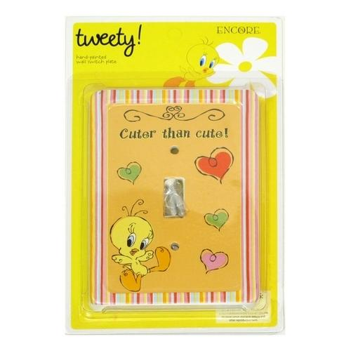 Looney Tunes Tweety Cheeky Switch Plate Cover