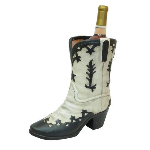 Terracotta Western Boot Black White