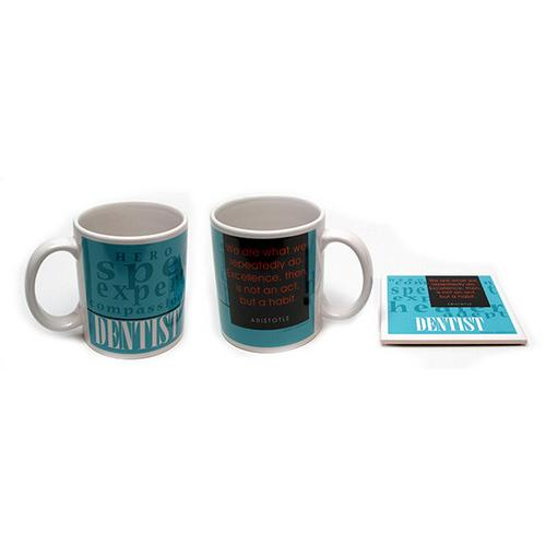 Dentist Mug and Coaster Set