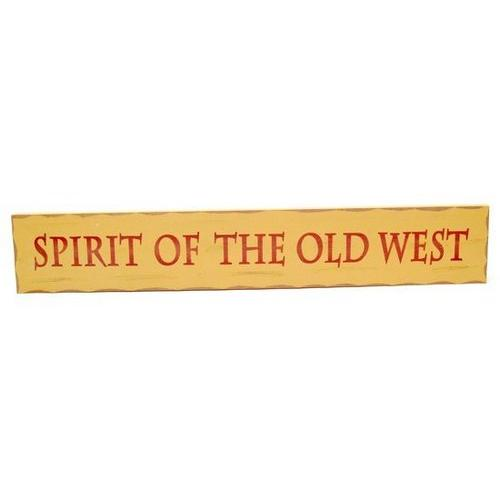 Spirit of the Old West Wood Sign