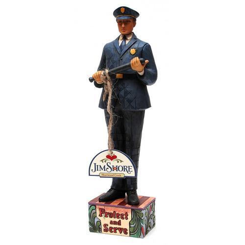Jim Shore Police Officer