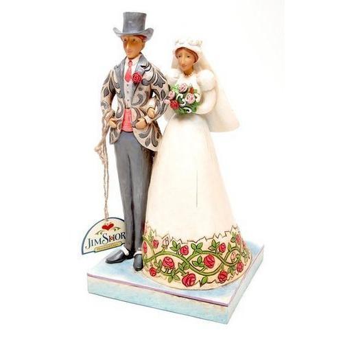 Jim Shore Bride and Groom