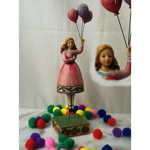 Jim Shore Girl W Balloons