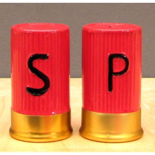 Shotgun Shell S & P Set