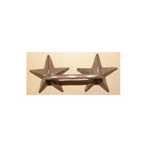 Metal 2 Star Drawer Handle
