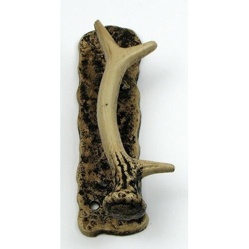 Left Hand Antler Door Handle