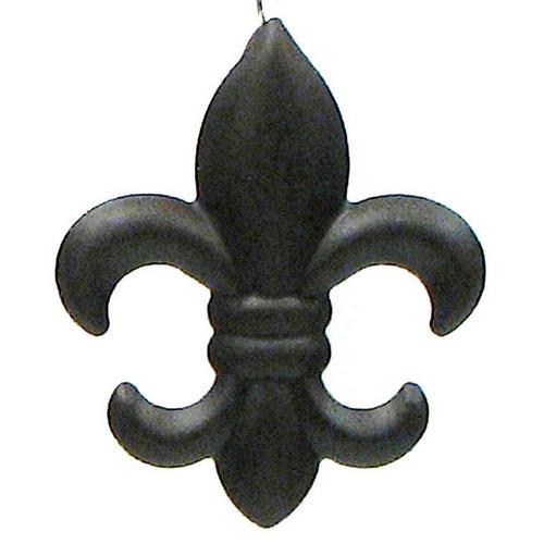 Small Metal Fleur De Lis