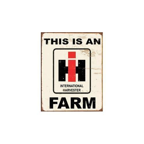 Tin Sign - IH Farm