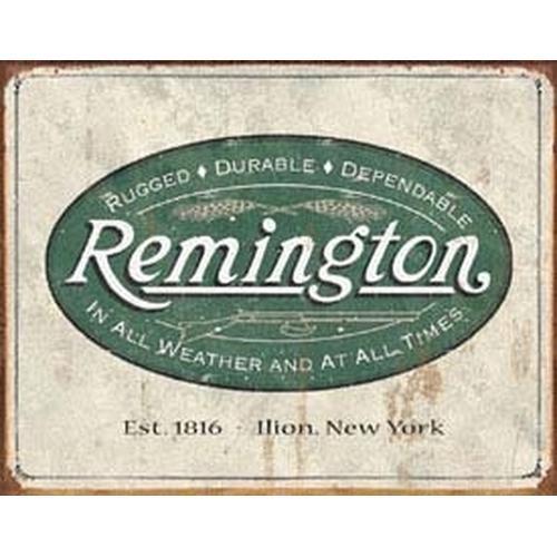 Tin Sign Remington