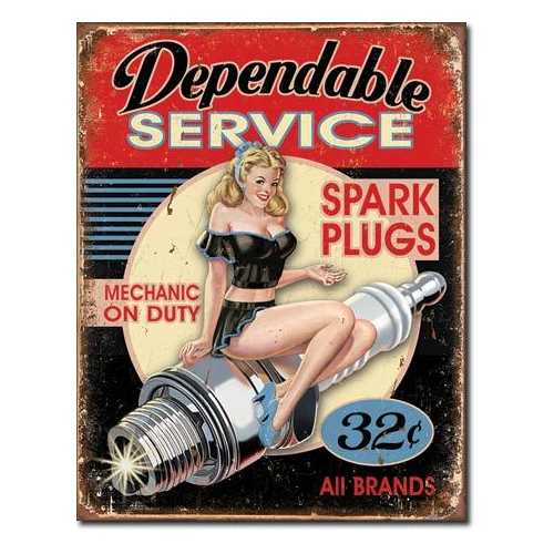 Dependable Service Spark Plugs