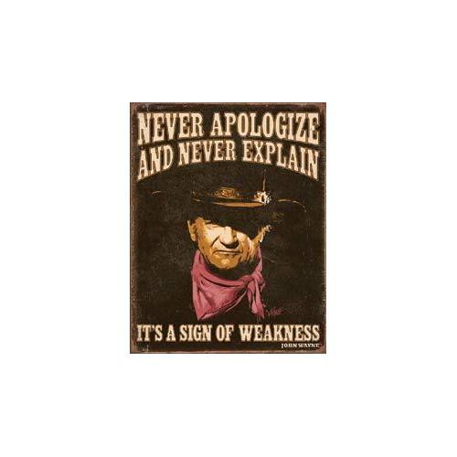 JOHN WAYNE - Sign of Weakness