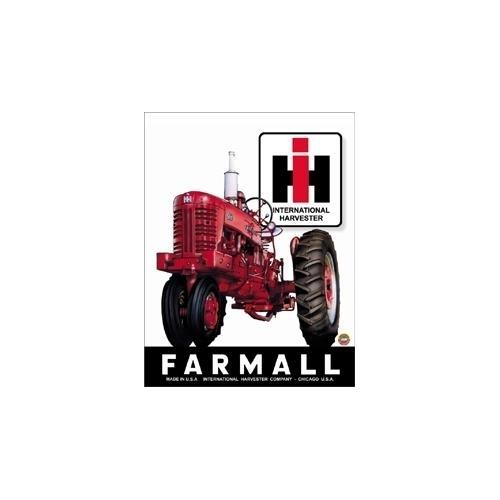 Tin Sign Farmall 400 Tractor