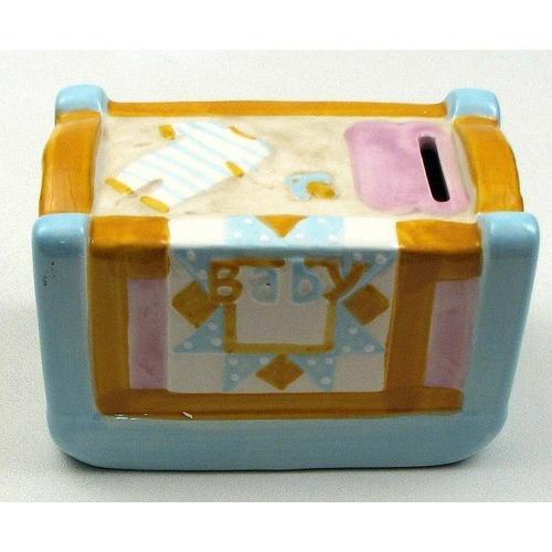 Baby Crib Money Bank