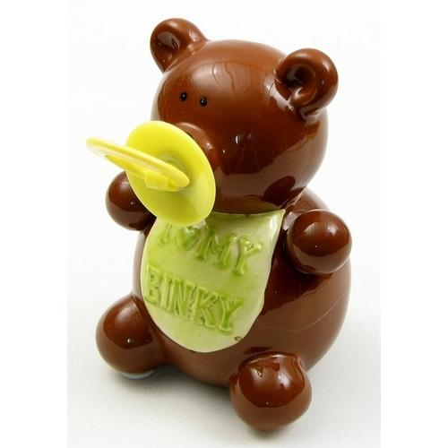 Bear Binky Money Bank