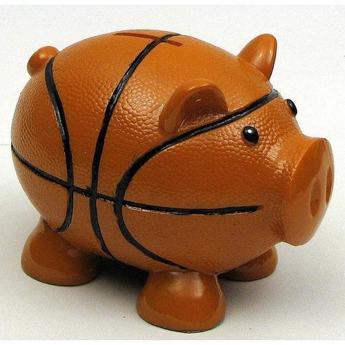 Pig Basketball Bank