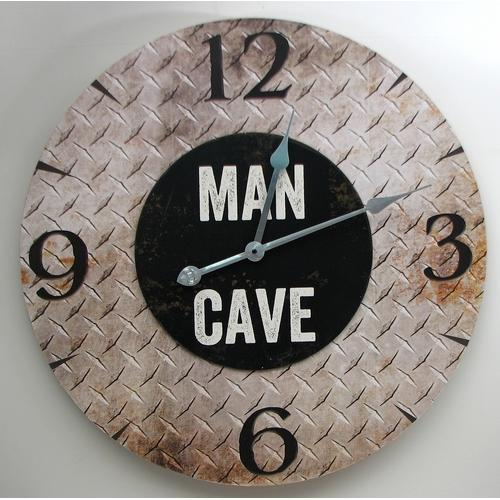 """MAN CAVE"" Wall Clock"