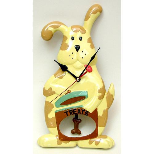 Whimsical Dog Clock