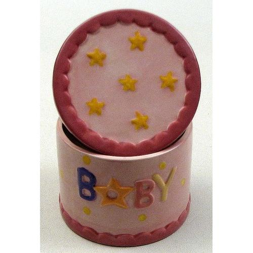 Cermamic Baby Trinket Box