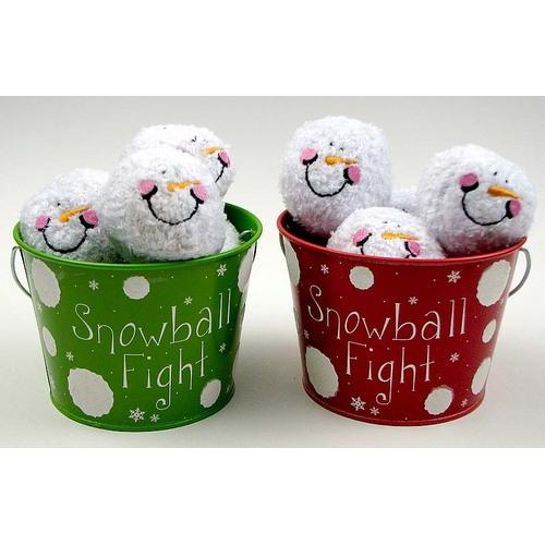 Indoor Snowball Fight Kit, 2 asst, priced each
