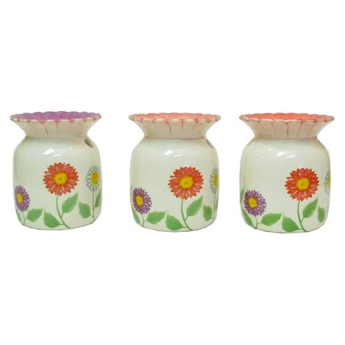 Ceramic Flower Tart Warmer in Three Styles, Price Each