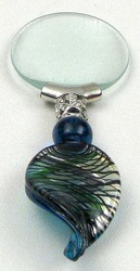 Blue Murano Magnifying Glass