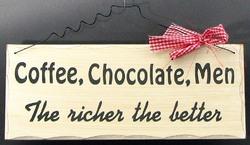 The Richer The Better Plaque