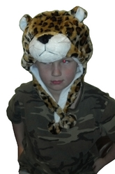Kids Leopard Hat