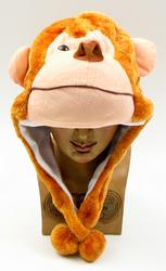 Kids Monkey Plush Hat