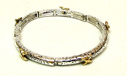 Stackable Stretch Bangle Gold X