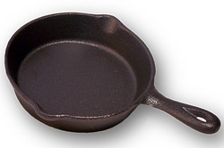 Old Mountain Cast Iron Spoon Rest Mini-Skillet