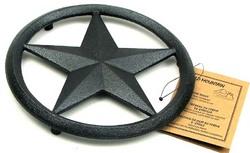 Cast Iron Star Trivet