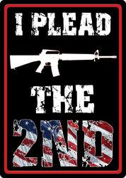 I Plead the 2nd Amendment