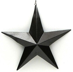 "7"" Brown Star Set of 6"