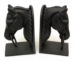 Cast Iron Horse Head Bookend