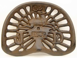 Tractor Seat 1847 Rust