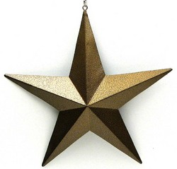 "3"" Gold Star Set of 12"