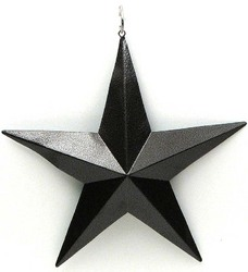 "5"" Brown Star Set of 6"