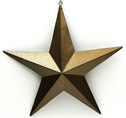 "5"" Gold Star Set of 6"