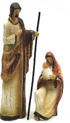 Resin Holy Family