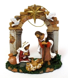 Category: Dropship Collectibles, SKU #0182-65119, Title: Fontanini Limited Edition Holy Family Ornament