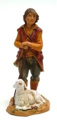Fontanini 5'' Scale Paul Shepherd w Sheep