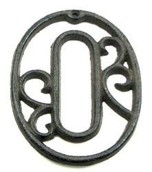 Cast Iron Number Zero
