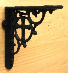 Cast Iron Cross Bracket Set of 2