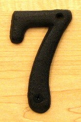 Solid Cast Iron Number 7