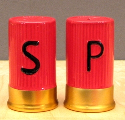 Shotgun Shell S & P Set