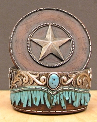 Trinket Box with Star on Lid