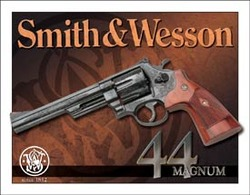 Tin Sign - Smith & Wesson 44 Magnum